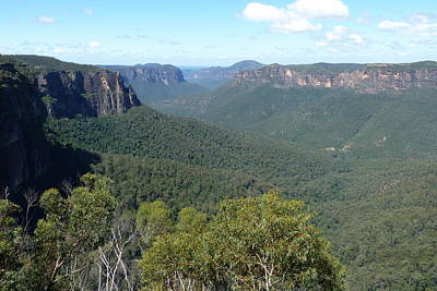 Photograph - Blue Mountains by Carla Parris