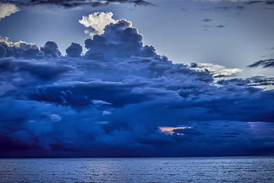 Photograph - Blue On Blue by Dave Bosse