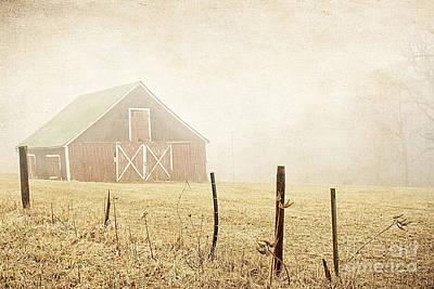 Blue Ridge Farm Art Print by Darren Fisher