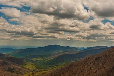 Photograph - Blue Ridge Mountains by Brenda Jacobs