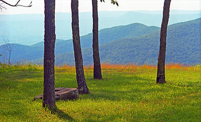 Photograph - Blue Ridge Mountains - Virginia 2 by Frank Romeo