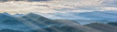 Photograph - Blue Ridge Sunrise by Jon Glaser