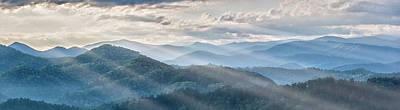 Photograph - Blue Ridge Sunrise by Jon Glaser