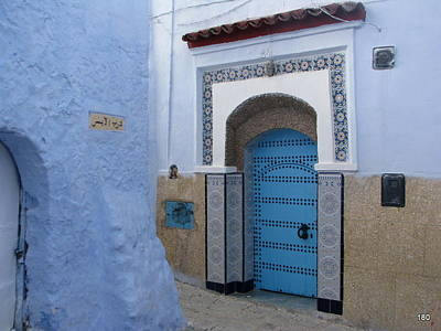 Morroco Photograph - Blue by S Ray
