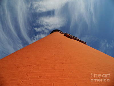 Photograph - Blue Sky At The Ponce Lighthouse by D Hackett