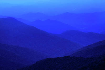 Photograph - Blue Sunset by Reid Northrup