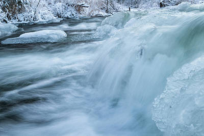 Photograph - Slush by Ted Raynor