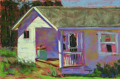 Blue Willow Farmers House Art Print by Mary McInnis