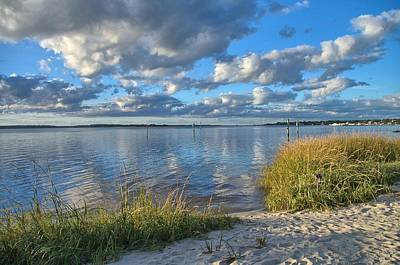 Blues Skies Of The Cape Fear River Art Print