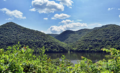 Photograph - Bluestone Lake - Hinton West Virginia by Kerri Farley