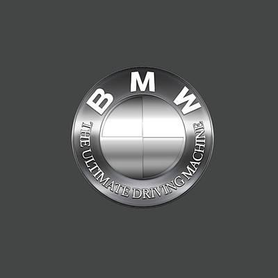 Digital Art - Bmw Logo by Carlos Diaz