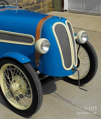 Bmw Racer Photograph - Vintage Bmw Racer by Neil Zimmerman