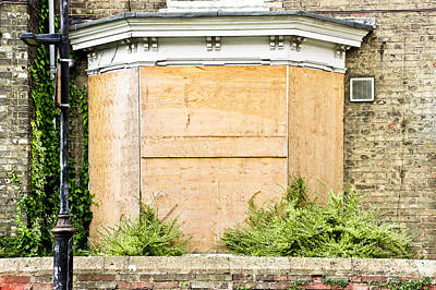 Boarded Up Photograph - Boarded Up by Tom Gowanlock