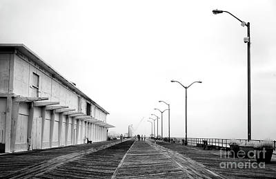 Photograph - Asbury Park Boardwalk Morning by John Rizzuto