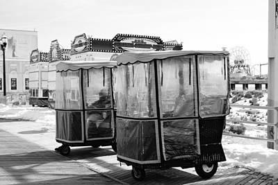 Photograph - Boardwalk Push Carts by Margie Avellino