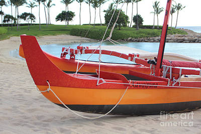Photograph - Boat On Beach 1 by Steven Parker