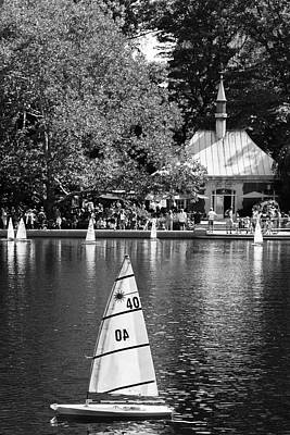 Photograph - Conservatory Water by Silvia Bruno
