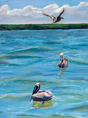 Painting - Boating In Fort Myers by Kathleen Heese