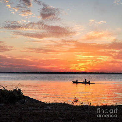 Photograph - Boating Sunset by Cheryl McClure