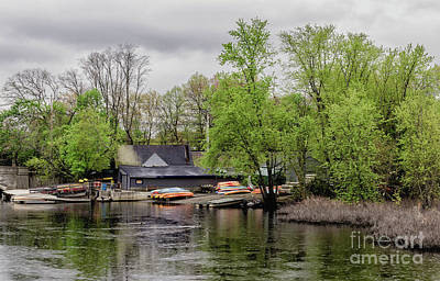 Concord Mass Photograph - Boats by Bruce Coulter