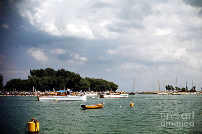 Photograph - Boats In Harbor - 002 by Larry Ward