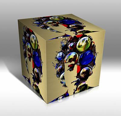 Mixed Media - Bob Dylan Art by Marvin Blaine