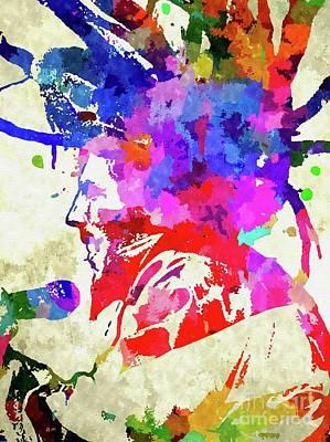 Mixed Media - Bob Marley by Daniel Janda