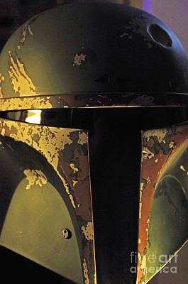Jet Star Photograph - Boba Fett Helmet 20 by Micah May