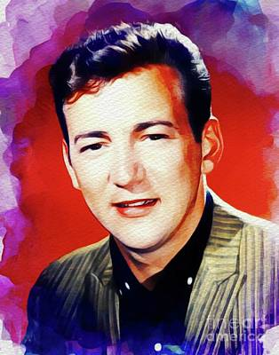 Rock And Roll Royalty-Free and Rights-Managed Images - Bobby Darin, Music Legend by John Springfield