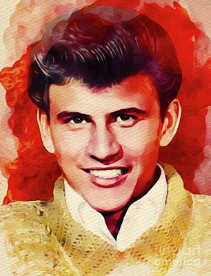 Rock And Roll Royalty-Free and Rights-Managed Images - Bobby Rydell, Music Legend by John Springfield