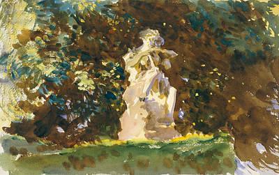 Drawing - Boboli Garden, Florence by John Singer Sargent