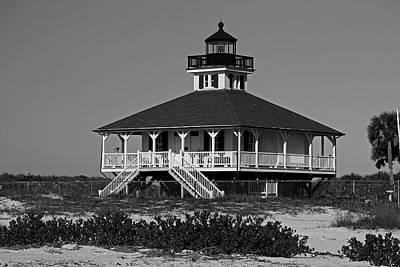 Photograph - Boca Grande Lighthouse Vi by Michiale Schneider