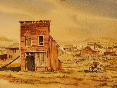 Bodie California Art Print by Kevin Heaney