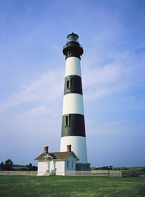 Nautical Structures Photograph - Bodie Island Lighthouse, Part by Vlad Kharitonov