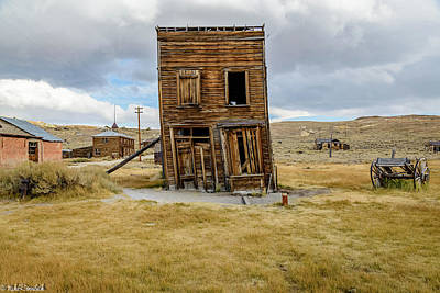 Photograph - Bodie  by Mike Ronnebeck