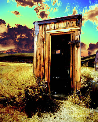 Photograph - Bodie Outhouse by Jim And Emily Bush