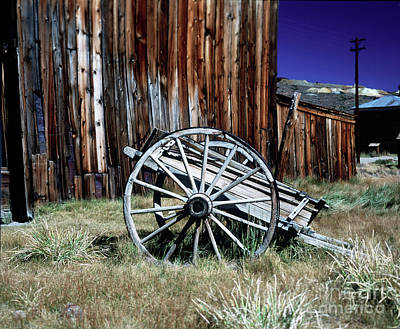Photograph - Bodie Wagon by Jim And Emily Bush