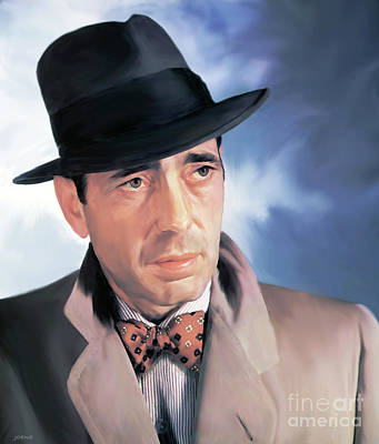 Bogart Art Print by Greg Joens
