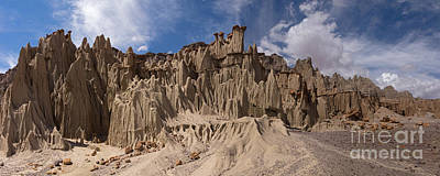 Photograph - Bolivia Rock Pinnacles by Warren Photographic