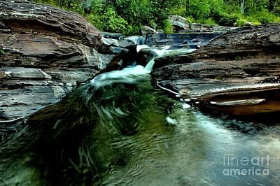 Photograph - Bonanza Falls In Summer by Matthew Winn
