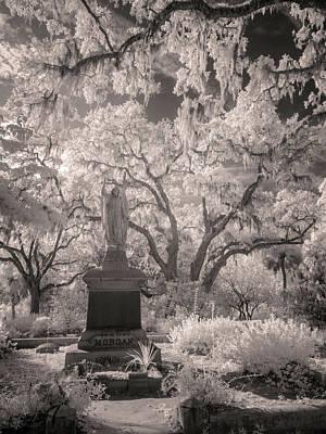 Savannah Infrared Photograph - Bonaventure Cemetery Ir 1070 by Bob Neiman