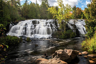 Photograph - Bond Falls by Linda Shannon Morgan
