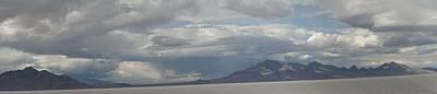 Art Print featuring the photograph Bonneville Salt Flats by Daniel Hebard