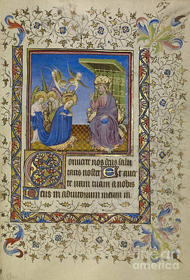 Luxembourg Painting - Book Of Hours by Celestial Images
