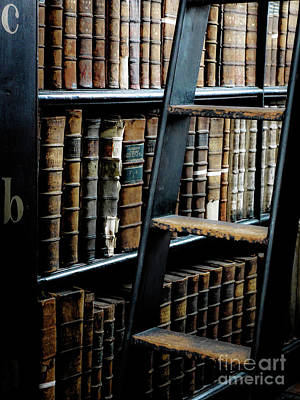 Photograph - Books Of Knowledge 7 by Lexa Harpell