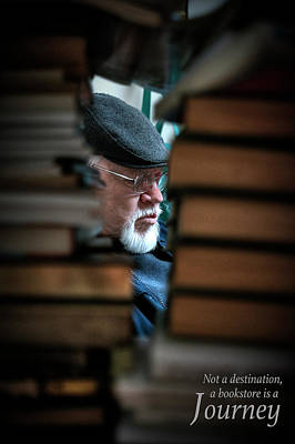 Photograph - Bookstore Poster by Patrick Groleau