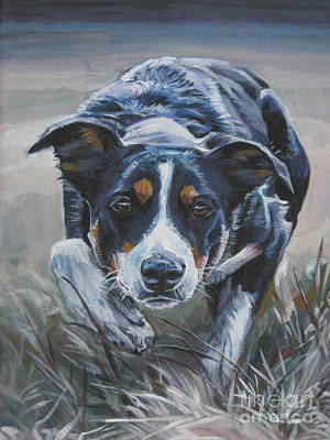Border Collie Painting - Border Collie by Lee Ann Shepard