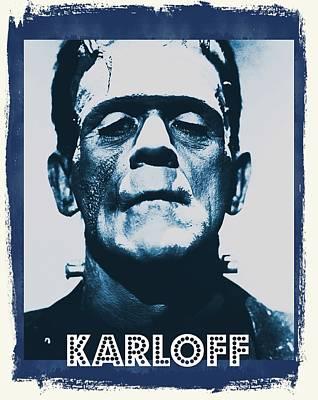 Boris Karloff Art Print by John Springfield