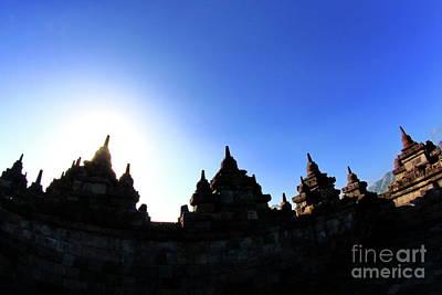 Jawa Photograph - Borobudur Temple by Rudy Suryanto
