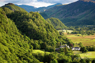 Photograph - Borrowdale Valley by Brian Jannsen